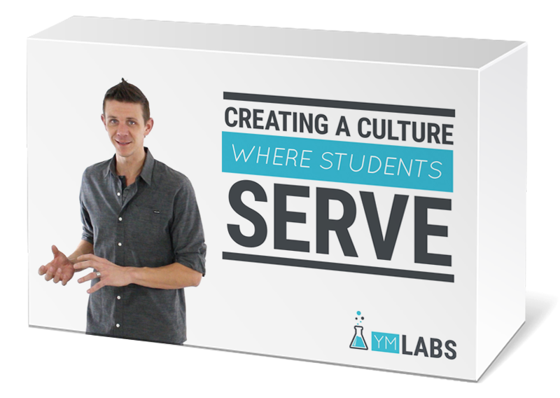 Creating A Culture Where Students Serve